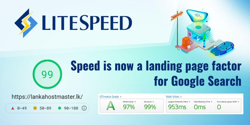 LiteSpeed web hosting servers Sri-Lanka